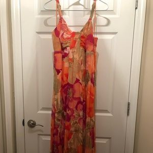 Tropical Maxi Dress Medium
